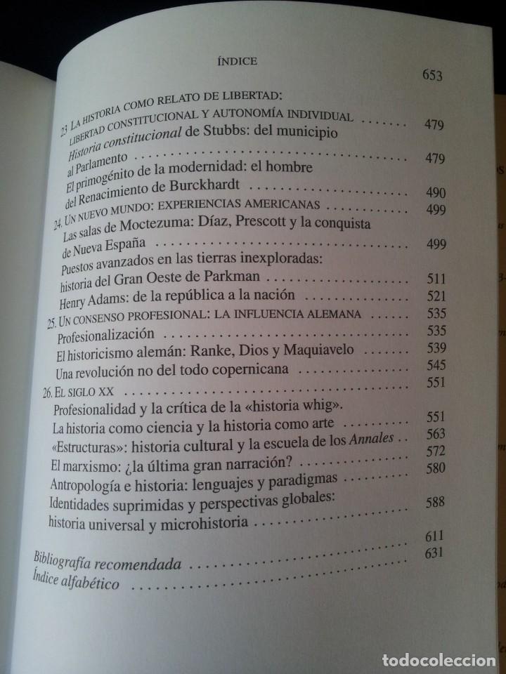 Libros de segunda mano: JOHN BURROW - HISTORIA DE LAS HISTORIAS, DE HERODOTO AL SIGLO XX - CRITICA 2008 - Foto 5 - 130321378