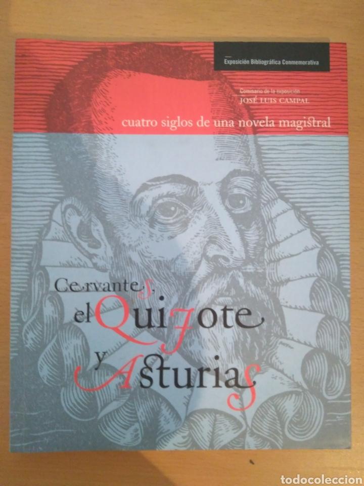 CERVANTES, EL QUIJOTE Y ASTURIAS. (Libros de Segunda Mano - Historia Antigua)