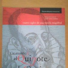 Libros de segunda mano: CERVANTES, EL QUIJOTE Y ASTURIAS.. Lote 130351908