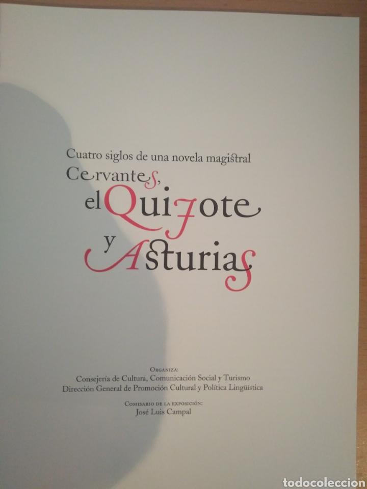 Libros de segunda mano: Cervantes, el Quijote y Asturias. - Foto 2 - 130351908
