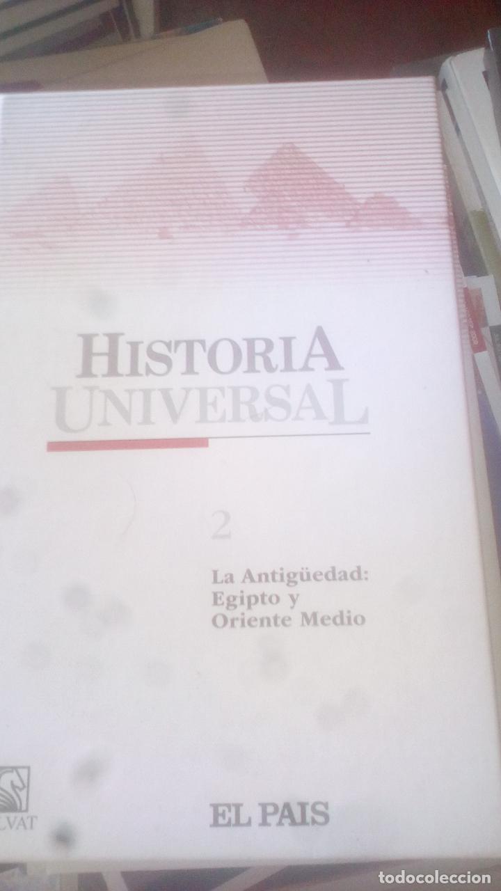 HISTORIA UNIVERSAL. (TOMO 2) LA ANTIGÜEDAD. EGIPTO Y ORIENTE... ED. EL PAÍS. TAPA DURA (Libros de Segunda Mano - Historia Antigua)