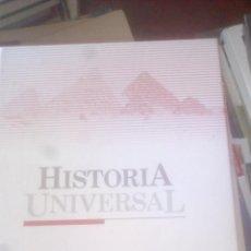 Libros de segunda mano: HISTORIA UNIVERSAL. (TOMO 2) LA ANTIGÜEDAD. EGIPTO Y ORIENTE... ED. EL PAÍS. TAPA DURA. Lote 130468438