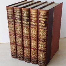 Libros de segunda mano: HISTORIA DEL MUNDO. 5 TOMOS. TOMOS I AL V. (1ª EDICIÓN, 1952 / OBRA COMPLETA) - PIJOAN, J.. Lote 130648994