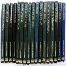 Libros de segunda mano: LAS GRANDES ÉPOCAS DE LA HUMANIDAD. 17 TOMOS. AÑOS: 1968/1973. TIME LIFE INTERNATIONAL.. Lote 130973804