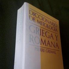 Libros de segunda mano: DICCIONARIO DE MITOLOGIA GRIEGA Y ROMANA-PAIDOS-BUENOS AIRES. Lote 131623450