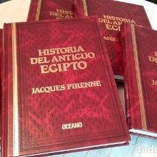 Libros de segunda mano: HISTORIA DEL ANTIGUO EGIPTO DE JACQUES PIRENNE. COMPLETA.. Lote 132090774