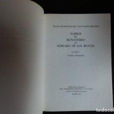 Libros de segunda mano: TUMBOS DEL MONASTERIO DE SOBRADO DE LOS MONJES VOL I. Lote 132102862