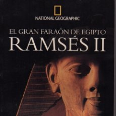 Libros de segunda mano: RAMSÉS II EL GRAN FARAÓN DE EGIPTO. Lote 133267423
