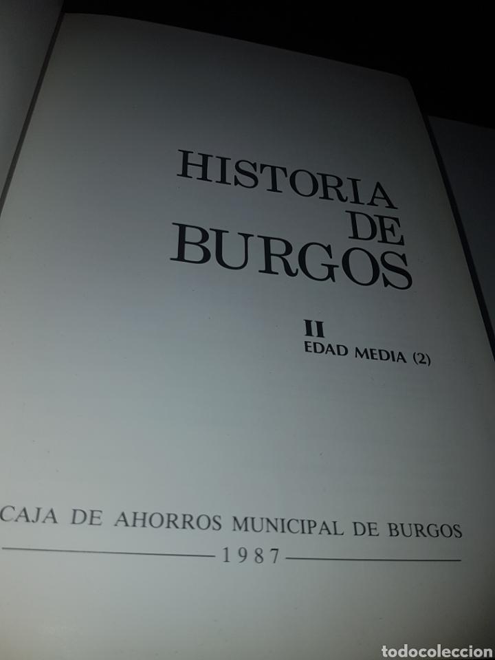 Libros de segunda mano: Historia de Burgos - edad media - - Foto 3 - 133659583
