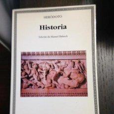 Libros de segunda mano: HISTORIA HERODOTO CATEDRA Nº274 NUEVO. Lote 134097214