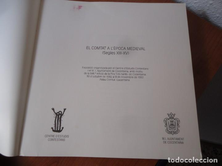 Libros de segunda mano: Llibre el comtat a lèpoca medieval (seglesXIII-XV) centre destudis contestans,any 1992 - Foto 7 - 135358258