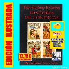 Libros de segunda mano: HISTORIA DE LOS INCAS - PEDRO SARMIENTO DE GAMBOA - MIRAGUANO EDICIONES - EXCELENTE - 12.75 EUROS. Lote 136231138
