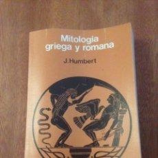 Libros de segunda mano: MITOLOGÍA GRIEGA Y ROMANA. Lote 136319029