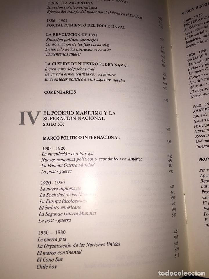 Libros de segunda mano: EL PODER NAVAL CHILENO. REVISTA DE MARINA, VALPARAÍSO, CHILE.----3ª COMPRA ENVÍO GRATIS----- - Foto 16 - 40330007