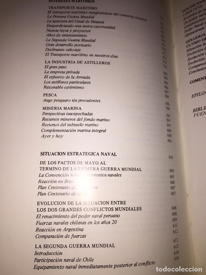 Libros de segunda mano: EL PODER NAVAL CHILENO. REVISTA DE MARINA, VALPARAÍSO, CHILE.----3ª COMPRA ENVÍO GRATIS----- - Foto 18 - 40330007