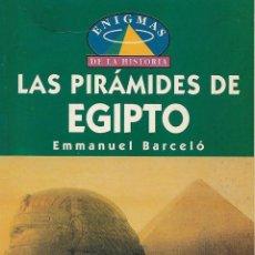 Libros de segunda mano: LAS PIRÁMIDES DE EGIPTO. Lote 137657210