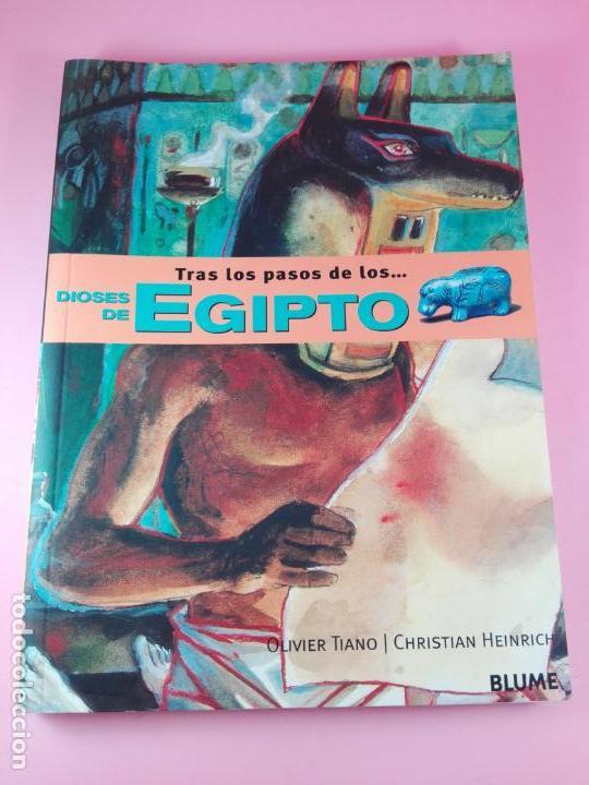 LIBRO-TRAS LOS PASOS DE LOS...DIOSES DE EGIPTO-BLUME-1ªEDICIÓ-2003-OLIVIER TIANO-NUEVO (Libros de Segunda Mano - Historia Antigua)