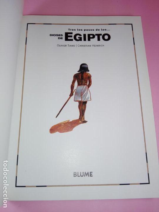 Libros de segunda mano: LIBRO-TRAS LOS PASOS DE LOS...DIOSES DE EGIPTO-BLUME-1ªEDICIÓ-2003-OLIVIER TIANO-NUEVO - Foto 3 - 139585482