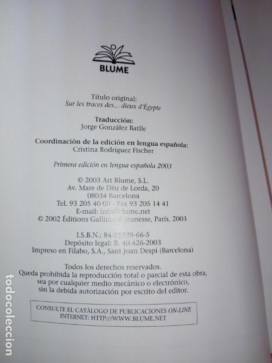 Libros de segunda mano: LIBRO-TRAS LOS PASOS DE LOS...DIOSES DE EGIPTO-BLUME-1ªEDICIÓ-2003-OLIVIER TIANO-NUEVO - Foto 4 - 139585482