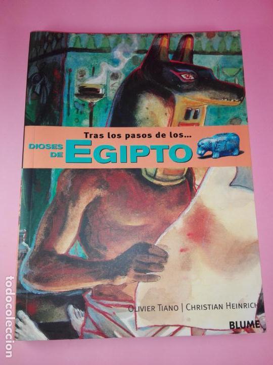 Libros de segunda mano: LIBRO-TRAS LOS PASOS DE LOS...DIOSES DE EGIPTO-BLUME-1ªEDICIÓ-2003-OLIVIER TIANO-NUEVO - Foto 7 - 139585482