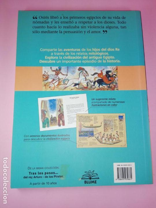 Libros de segunda mano: LIBRO-TRAS LOS PASOS DE LOS...DIOSES DE EGIPTO-BLUME-1ªEDICIÓ-2003-OLIVIER TIANO-NUEVO - Foto 8 - 139585482