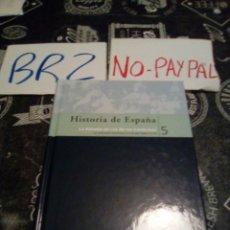 Libros de segunda mano: HISTORIA DE ESPAÑA, LA ESPAÑA DE LOS REYES CATÓLICOS 5 BIBLIOTECA EL MUNDO. Lote 139756454