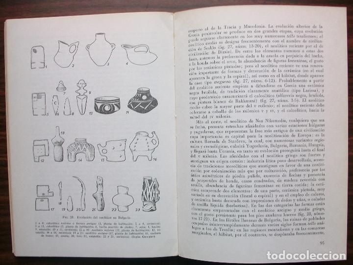 Libros de segunda mano: LA PREHISTORIA. ANDRE LEROI-GOURHAN / GERARD BAILLOUD / JEAN CHAVAILLON / ANNETTE LAMING-EMPERAIRE - Foto 2 - 141232122