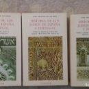 Libros de segunda mano: HISTORIA DE LOS JUDÍOS DE ESPAÑA Y PORTUGAL, TOMOS I, II, III, JOSE AMADOR DE LOS RÍOS. Lote 141448890
