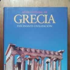 Libros de segunda mano: ATLAS CULTURAL DE GRECIA, FASCINANTE CIVILIZACION, PETER LEVI, EDITORIAL OPTIMA. Lote 141843782