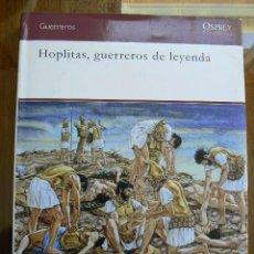Libros de segunda mano: HOPLITAS, GUERREROS DE LEYENDA. Lote 142440714