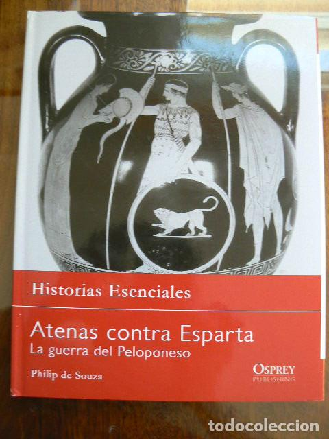 ATENAS CONTRA ESPARTA (Libros de Segunda Mano - Historia Antigua)