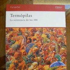Libros de segunda mano: TERMOPILAS. LA RESISTENCIA DE LOS 300. Lote 142441294