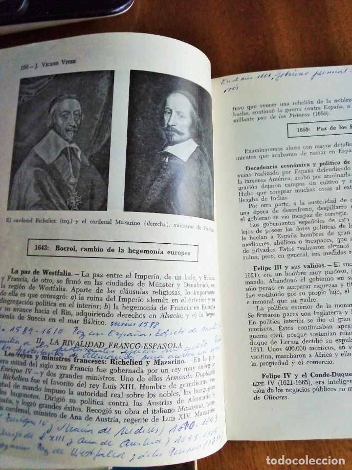 Libros de segunda mano: CIVES: Vicens Vives 1.960 - Foto 4 - 115100543
