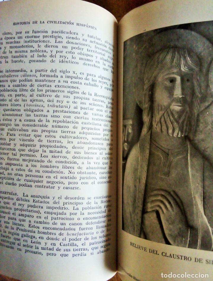 Libros de segunda mano: Historia de la Civilización e Instituciones Hispánicas: Antonio Palomeque. 1.966 - Foto 2 - 114420671