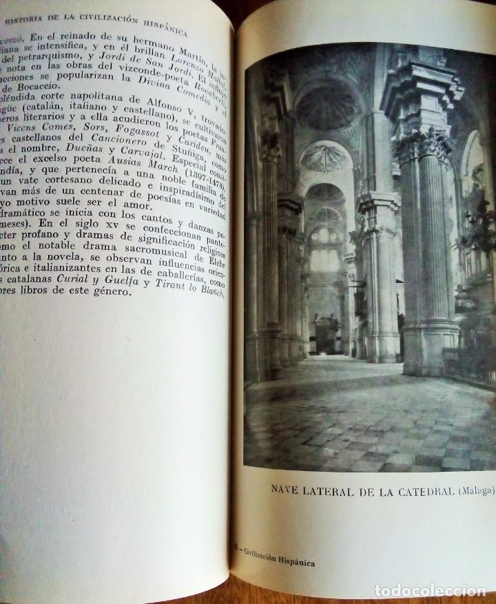 Libros de segunda mano: Historia de la Civilización e Instituciones Hispánicas: Antonio Palomeque. 1.966 - Foto 3 - 114420671