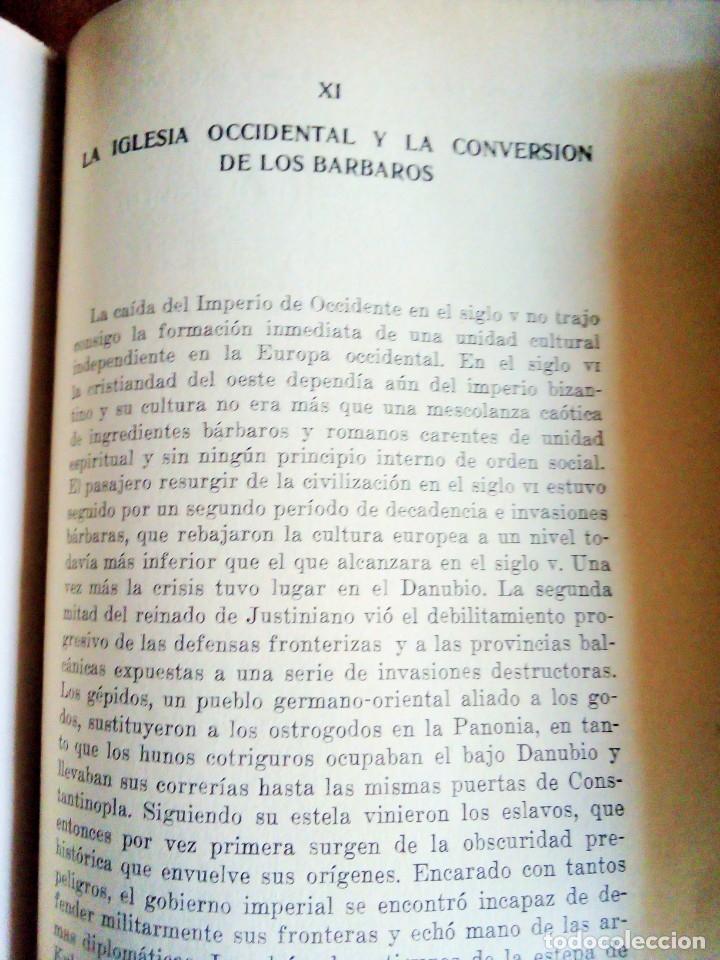 Libros de segunda mano: Los Orígenes de Europa: Christopher Dawson - Foto 3 - 115108295