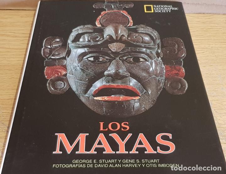 LOS MAYAS / GEORGE E Y GENE S STUART / NATIONAL GEOGRAPHIC - 1999 / BUENA CALIDAD. (Libros de Segunda Mano - Historia Antigua)