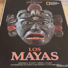 Livres d'occasion: LOS MAYAS / GEORGE E Y GENE S STUART / NATIONAL GEOGRAPHIC - 1999 / BUENA CALIDAD.. Lote 142957026