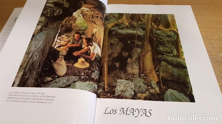 Libros de segunda mano: LOS MAYAS / GEORGE E Y GENE S STUART / NATIONAL GEOGRAPHIC - 1999 / BUENA CALIDAD. - Foto 2 - 142957026