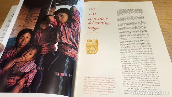 Libros de segunda mano: LOS MAYAS / GEORGE E Y GENE S STUART / NATIONAL GEOGRAPHIC - 1999 / BUENA CALIDAD. - Foto 3 - 142957026