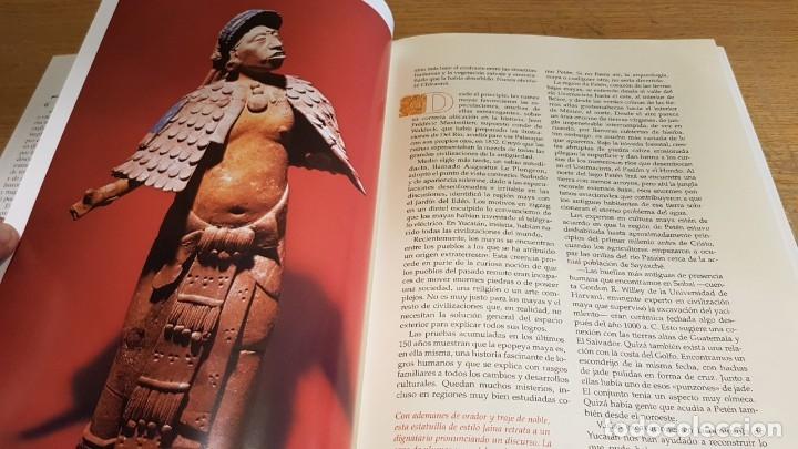 Libros de segunda mano: LOS MAYAS / GEORGE E Y GENE S STUART / NATIONAL GEOGRAPHIC - 1999 / BUENA CALIDAD. - Foto 5 - 142957026
