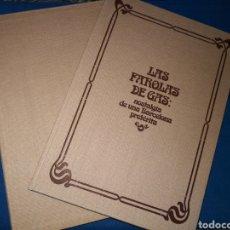 Libros de segunda mano: MAGNÍFICO LIBRO CON ILUSTRACIONES DE LAS FAROLAS DE GAS. NOSTALGIA DE UNA BARCELONA PRETERITA. 1981. Lote 143375288