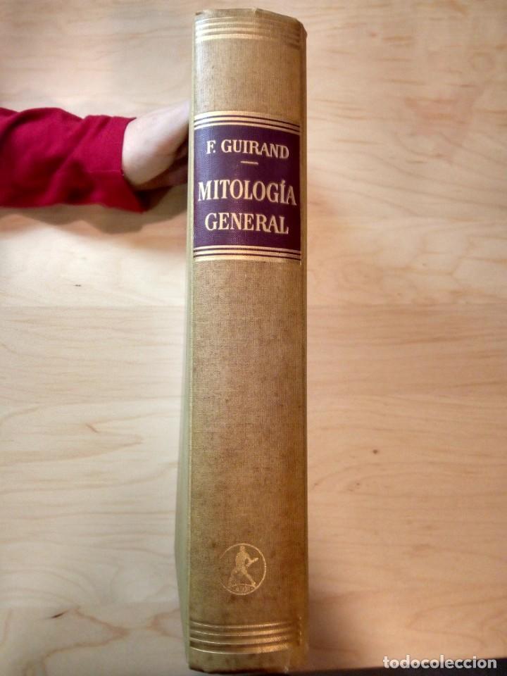 Libros de segunda mano: Mitología general. Félix Guirand. - Foto 2 - 143917898