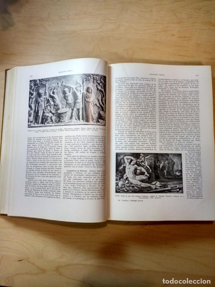 Libros de segunda mano: Mitología general. Félix Guirand. - Foto 3 - 143917898