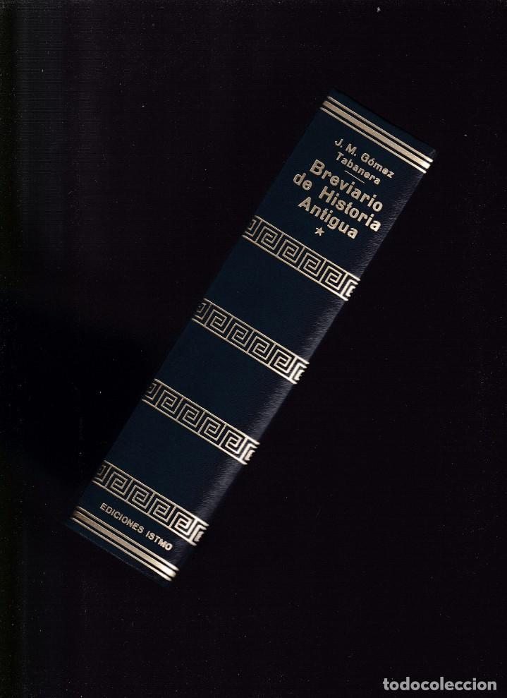 Libros de segunda mano: BREVIARIO DE HISTORIA ANTIGUA - J.M.GÓMEZ-TABANERA - ISTMO EDITORIAL 1973 / ILUSTRADO - Foto 2 - 144032050