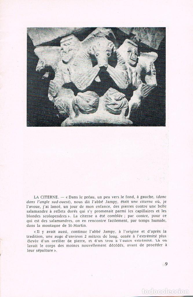 Libros de segunda mano: Saint Martin de Canigou por el Abad Albert Cazzes, en francés - Foto 2 - 144101942