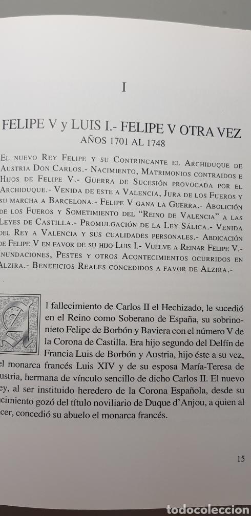 Libros de segunda mano: Historia de Alzira tomo V.Rafael Sifre.1986. - Foto 3 - 144903160