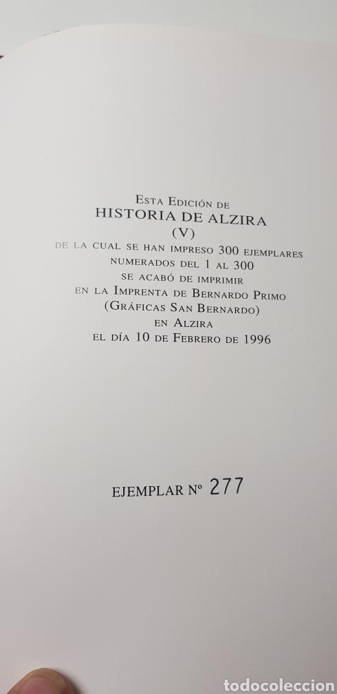 Libros de segunda mano: Historia de Alzira tomo V.Rafael Sifre.1986. - Foto 6 - 144903160