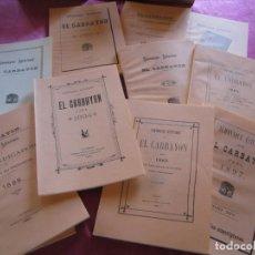 Libros de segunda mano: EL CARBAYON 10 ALMANAQUES ASTURIANOS FACSIMIL OVIEDO. Lote 145711278