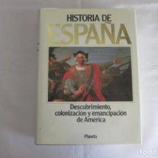 Libros de segunda mano: HISTORIA DE ESPAÑA TOMO 8 DE PLANETA CON ENVIO. Lote 146019958